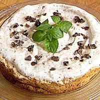 Kokoskake med sjokoladekrem - Dette er glutenfri kake til glede for alle med glutenallergi. Ikke gluten!