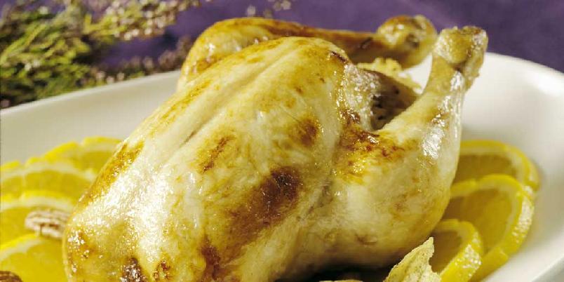 Appelsinglasert kylling -