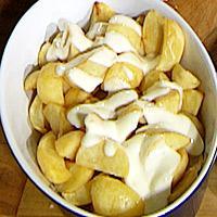 Patatas aioli -