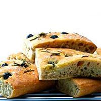 Focaccia med rosmarin - Det blir godt å spise brød igjen med denne oppskriften.