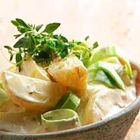 Hjemmelaget potetsalat -