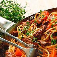 Italiensk wok -