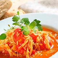 Suppe med grønnsaker -