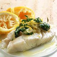 Fisk i sitronsaus -