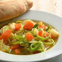 Fyldig grønnsaksuppe -
