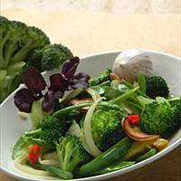 Grønnsakswok -