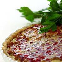 Kjøttdeigpai med tyttebærlokk -