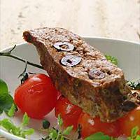 Kjøttbrød med oliven -