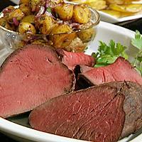 Roastbiff av rein -