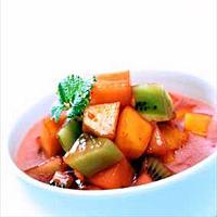 Frukt- og bærgazpacho -