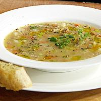 Grynsuppe fra Piemonte -