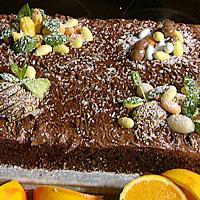 Sjokoladekake med appelsinsmak -
