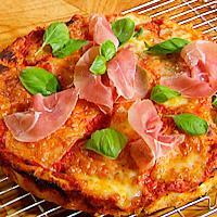 Pizzabrød i paiform -