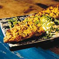 Kamskjellgratinert makrell -