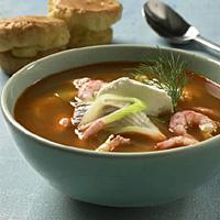 Fiskesuppe med fennikel -