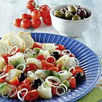 Italiensk tørrfisksalat -