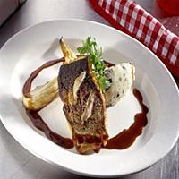 Sprøstekt torsk med bakt fennikel -
