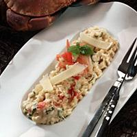 Risotto med krabbe -