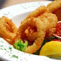 Calamares a la Romana - Frityrstekte akkarringer -