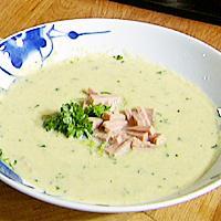 Purreløksuppe -
