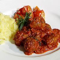 Sakavci - Kjøttboller med ris -