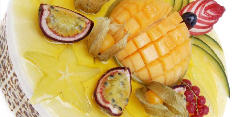 Fruktkake -
