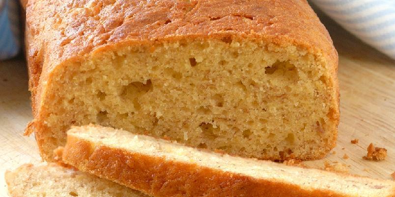 Enkel banankake - Kaken bakes med godt modne bananer, resultatet er deilig saftig.