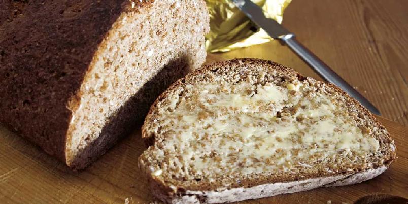 Ekstra grovt speltbrød med karve og ingefær -