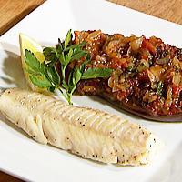 Ovnsrett med aubergine og tomater - Denne oppskriften kommer fra Rasim Habul, norsk statsborger med bosnisk bakgrunn.