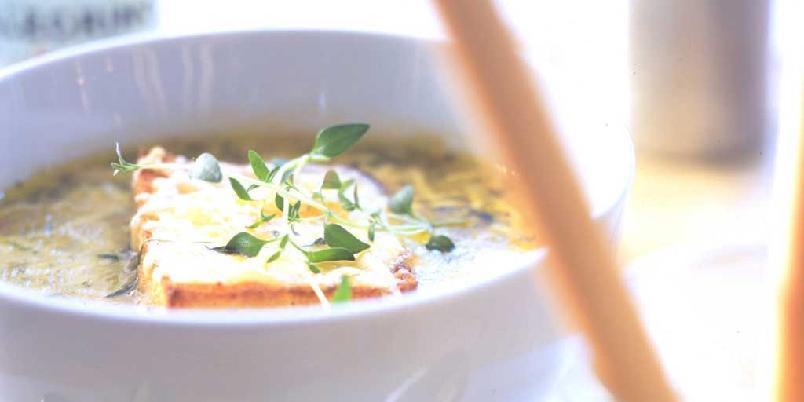 Løksuppe som i Provence -