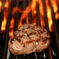 Grillet argentinsk biff -
