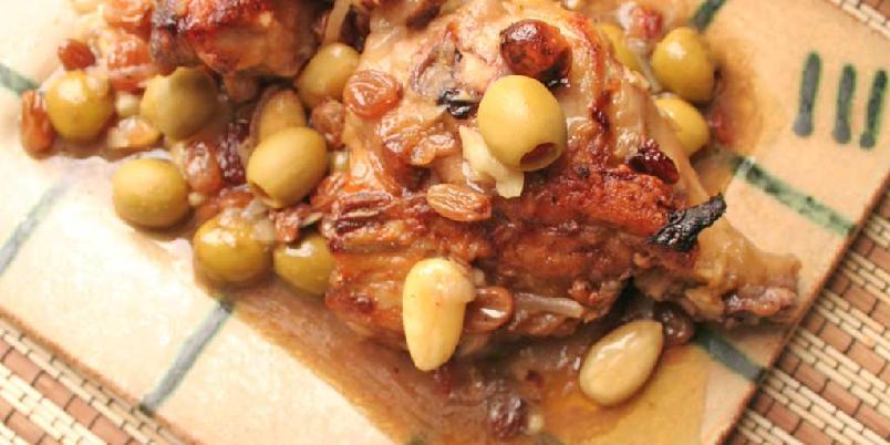 Pollo borracho (beruset kylling) fra Mexico -