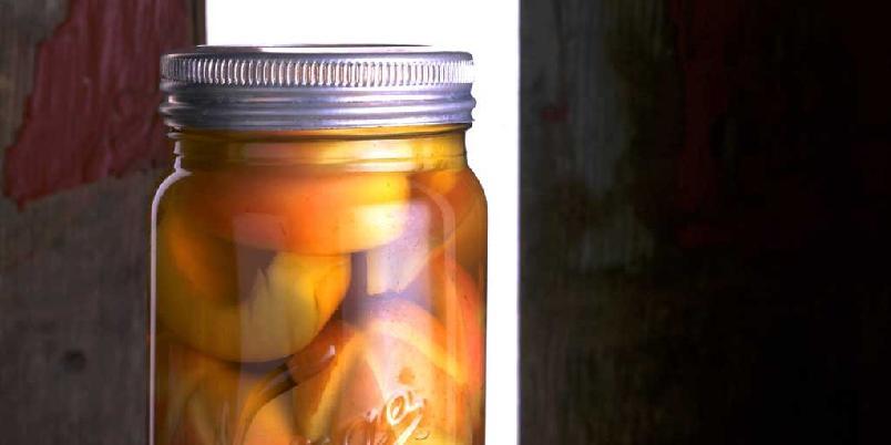 Hermetiserte epler og pærer - Slik hermetiserer du epler og pærer. Legg epler og pærer på glass!
