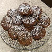 Saftige blåbærmuffins -
