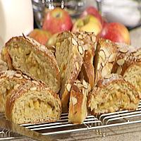 Kringle med honningmarinerte epler -