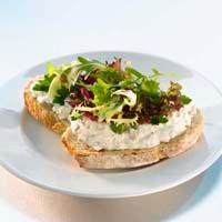 Sandwich med kyllingsalat -