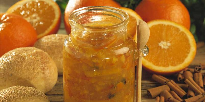 Appelsinmarmelade med vanilje -