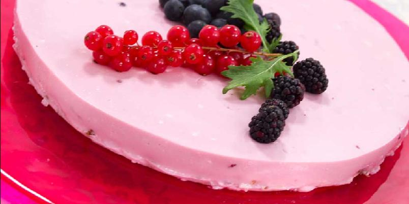 En litt lettere ostekake - Om du må tenke på kaloriene, er dette kaken for deg. Den er laget av yoghurt og cottage cheese.