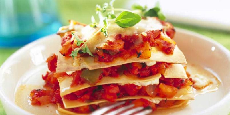Sunnere lasagne -