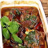 ovnsbakte koteletter med rotgrønnsaker