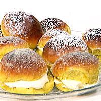 Fastelavensboller med mindre fett og sukker -
