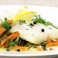 Sitron- og persilletorsk -