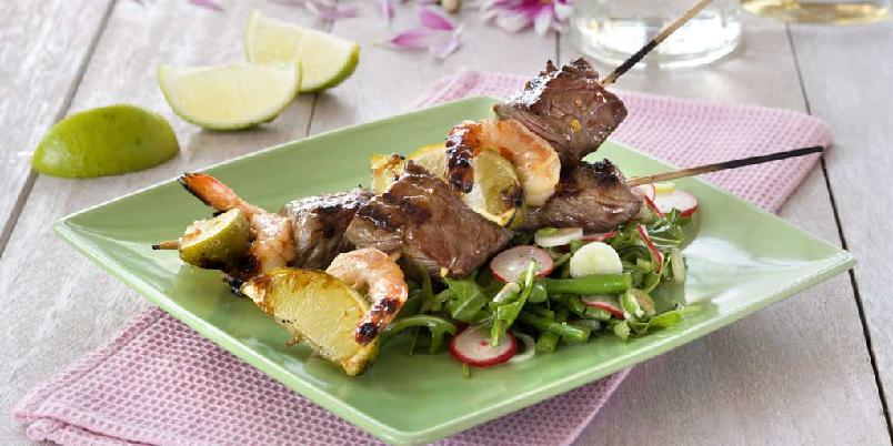 Surf and turf-spyd med lime -