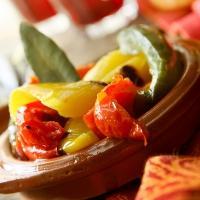 Spansk tapassalat med grillet paprika -