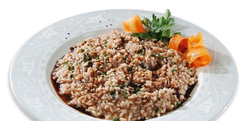 Risotto med balsamico - Dette er favorittrisottoen til familien Cattani som lager balsamico i Modena.