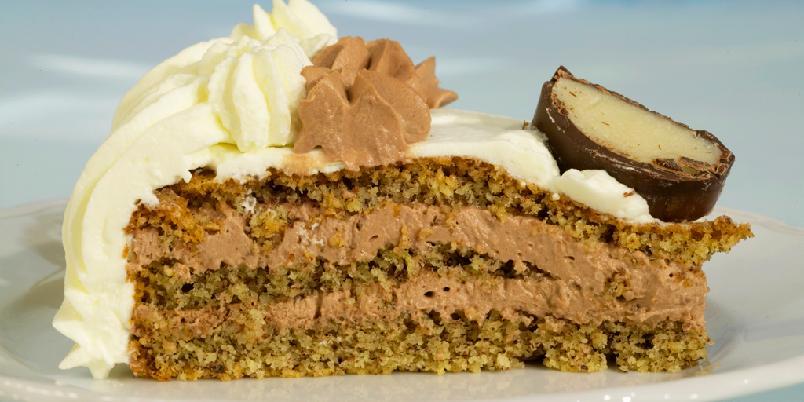 Nøttedrøm - Denne kaken skal lages et par dager før den skal serveres.
