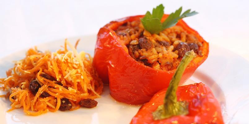 Fylt paprika - Fyll paprikaen med masse godt!
