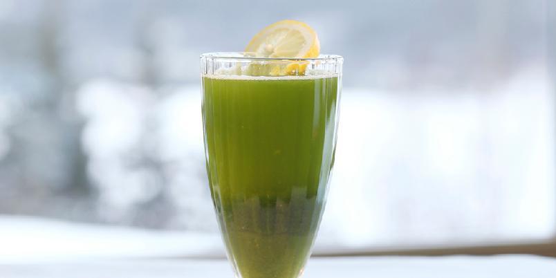 Grønn fastedrikk - Dette er en drink for deg som er på slankeren!