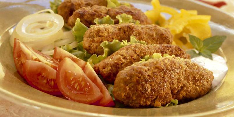 Lammekjøttboller fra Kashmir - Disse kjøttbollene har mange forskjellige krydder som gjør dem proppfulle av smak. Om du ikke får tak i lammekjøttdeig, kan du fint bruke vanlig kjøttdeig eller karbonadedeig.