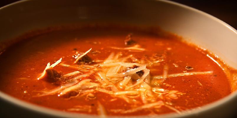 Superrask tomatsuppe - Her har du kanskje den raskeste tomatsuppe som finnes!